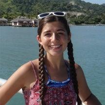 Undergraduate student Arielle Amrein