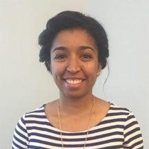 Graduate student Kesha Cummings